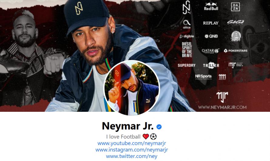 Conta do Facebook de Neymar