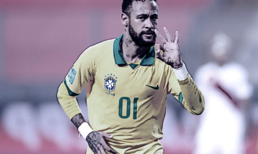 18 points out of 18. Neymar's goal and an assist gave Brazil a victory over Paraguay
